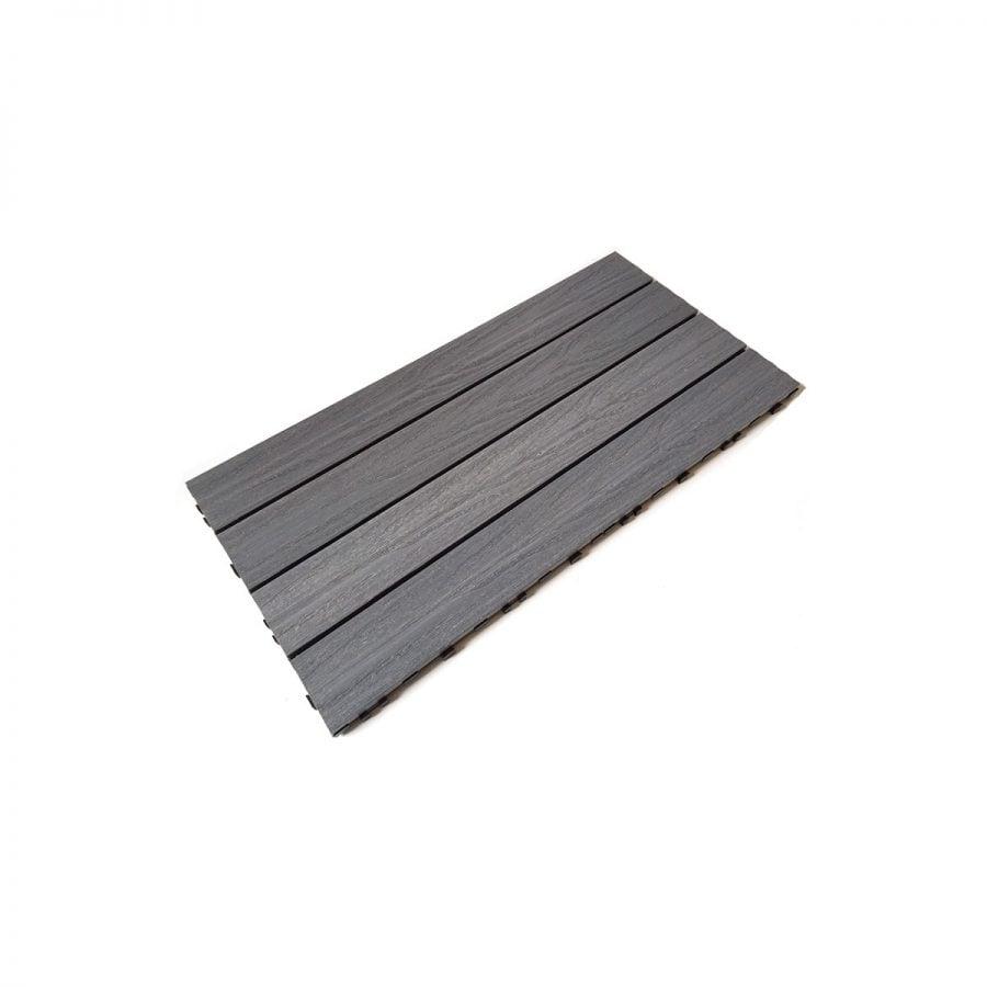 Silver Grey Composite Decking Tiles
