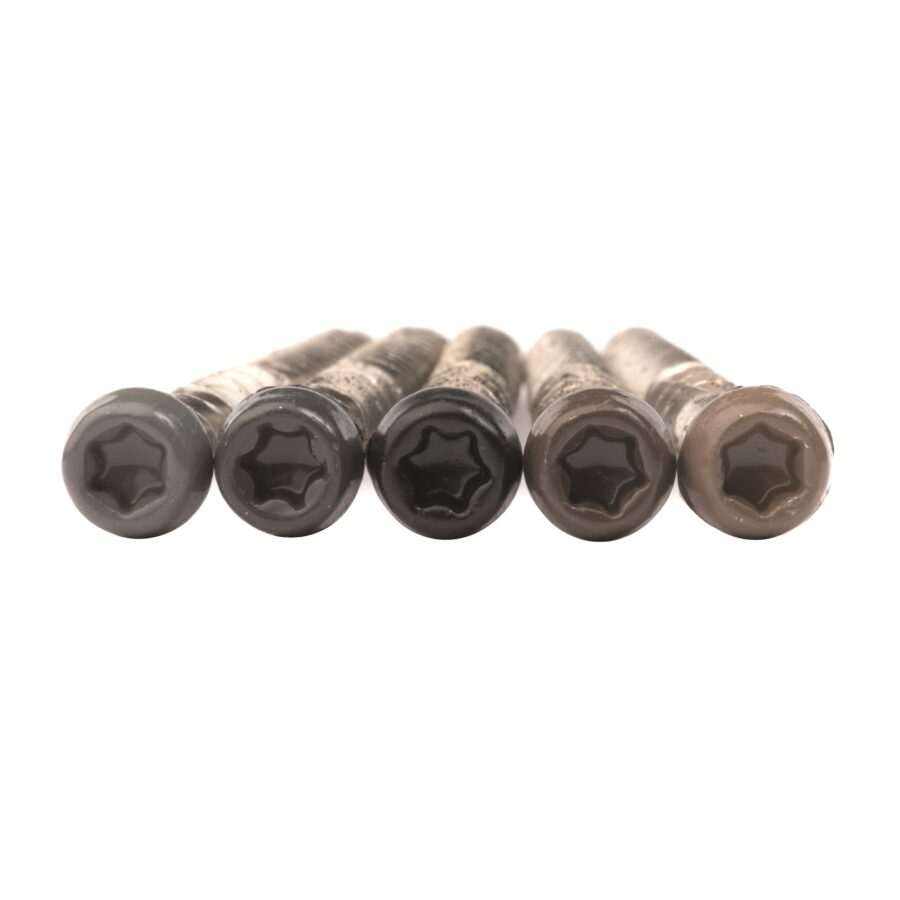 coloured composite decking screws