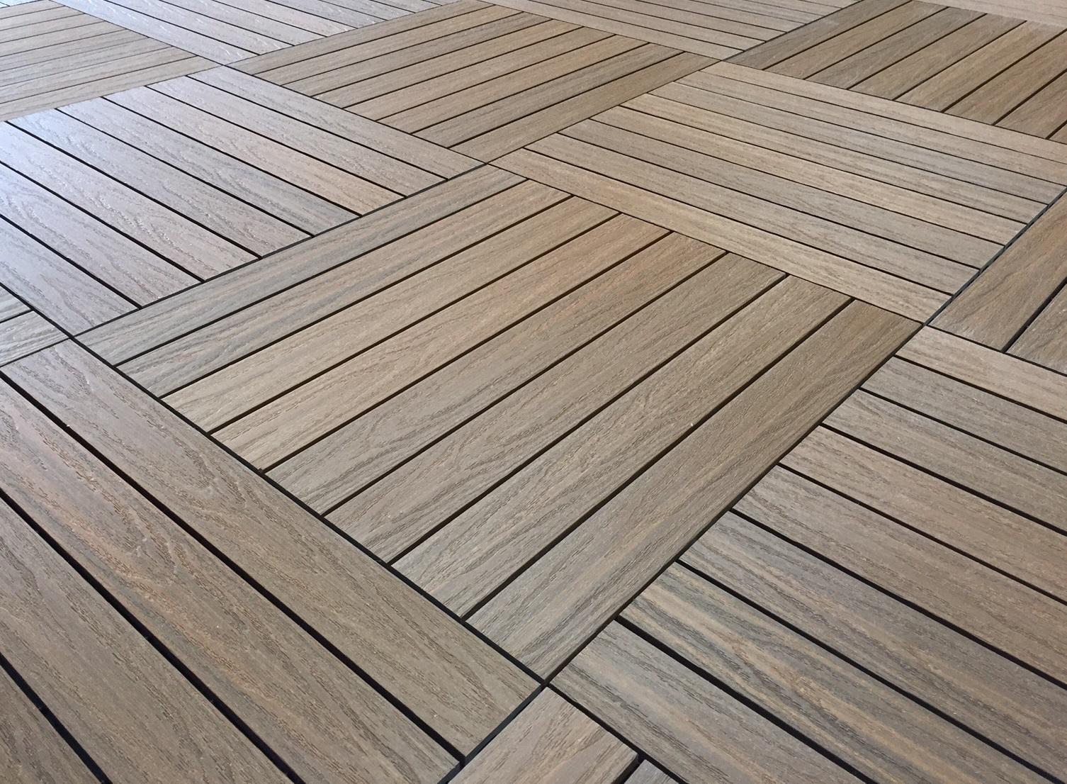 Ultra Guard composite Deck Tiles